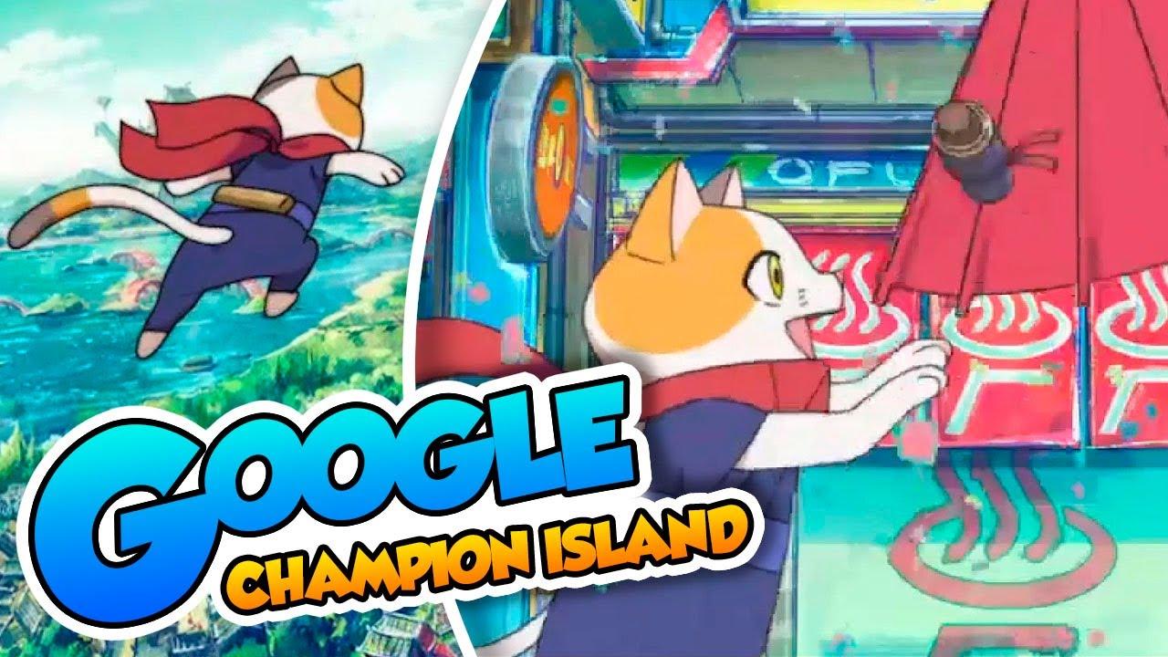 ¡La nueva campeona! - #03 - Google Champion Island (PC) DSimphony