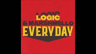 Download Marshmello & Logic - EVERYDAY - 1 Hour MP3 song and Music Video
