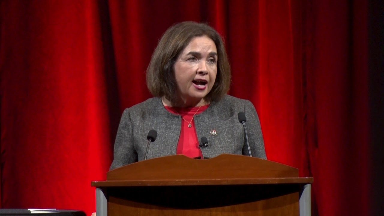 431dc968 SDSU Convocation 2018 - President Adela de la Torre's Remarks - YouTube