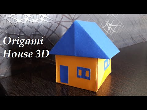 How to make an Origami House  Paper House  YouTube