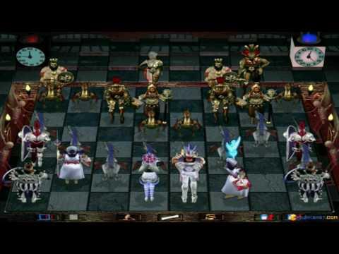Combat Chess gameplay (PC Game, 1997) thumbnail