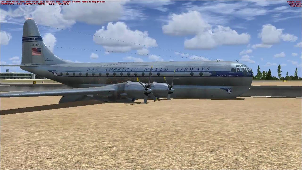 FSX WITH REALISTIC CRASHES! - YouTube