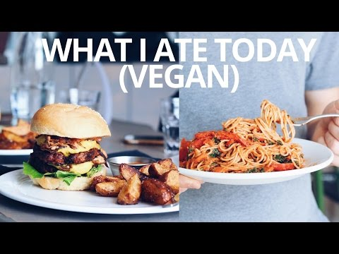 WHAT I ATE TODAY (VEGAN)