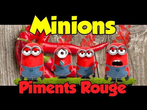 Minions - Piments Rouge