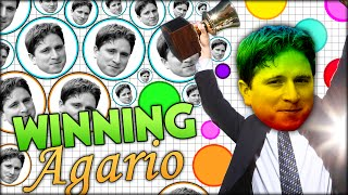 HOW TO WIN AT AGARIO AND COMPLETE THE GAME FOREVER (THE MOST ADDICTIVE GAME - AGAR.IO #33)