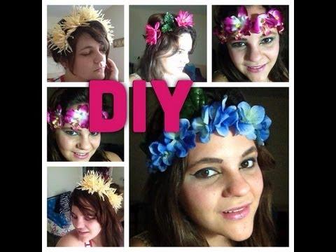 DIY Corona De Flores Cintillos
