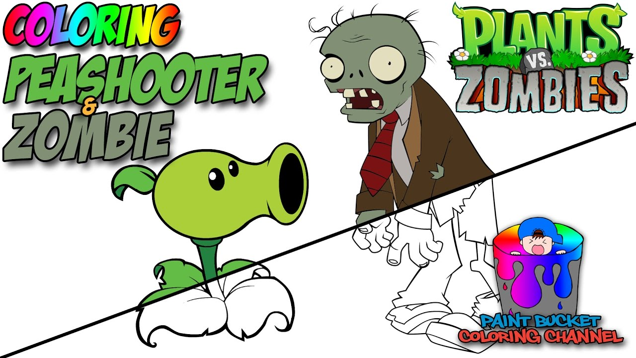how to color plants vs zombies android games and ios games coloring page