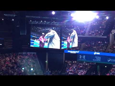 Still Game Victor and Winston play tennis at Andy Murray LIVE