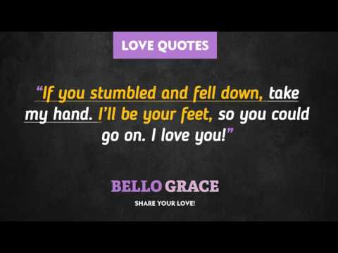 Best Love Quotes - Take My Hand