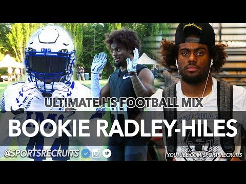 "Brendan ""Bookie"" Radley-Hiles: HS Football Super Mix (Nebraska Commit) IMG Academy DB"