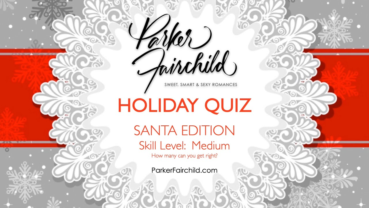 Holiday Quiz #1