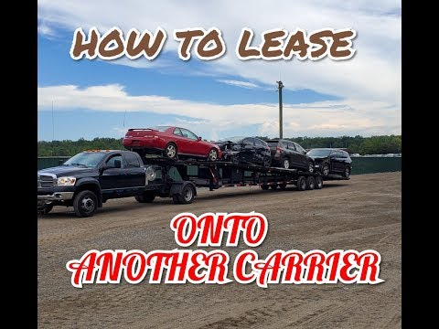 Owner operator leasing on 101. How do I lease my equipment to a company.