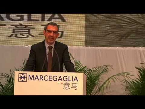 Inauguration of new Marcegaglia plant in Yangzhou - China