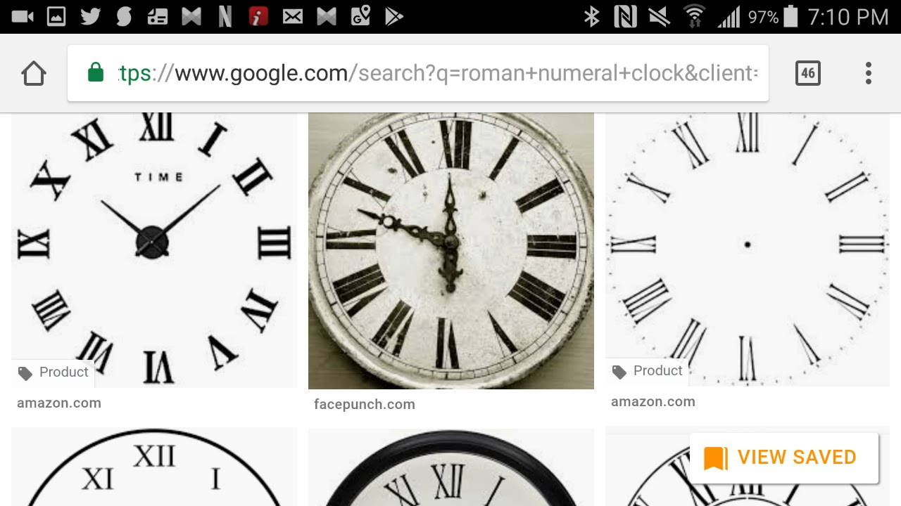 mandela effect roman numeral clock numbers have turned upside down
