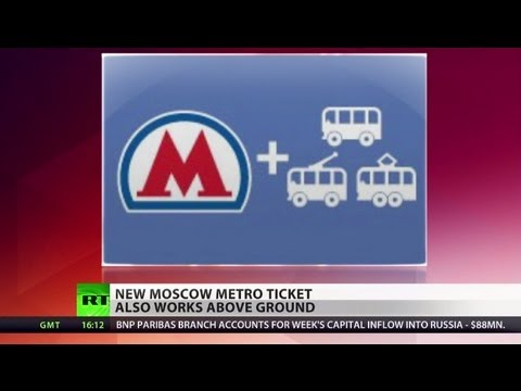 Universally Valid: Tickets for street & subway issued by Moscow metro