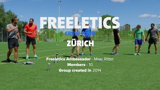 Freeletics Crew Tour 2017 | Zurich, Switzerland