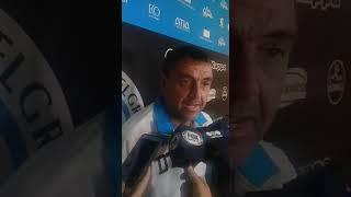 Diego Osella, DT de Belgrano antes del partido decisivo contra Lanús