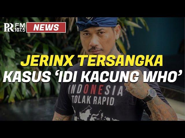 Jerinx SID Resmi Jadi Tersangka Karena Kasus  'IDI Kacung WHO'