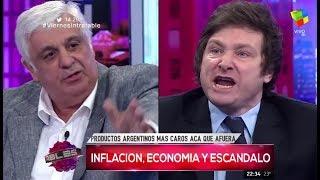 """Javier Milei contra Alberto Samid: """"Sos un bruto"""" Intratables- 27/01/17"""