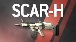 SCAR-H - Modern Warfare 2 Multiplayer Weapon Guide