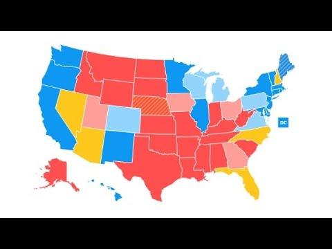 New CNN electoral map: Clinton drops below 270