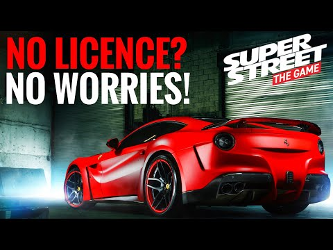 Super Street The Game || NO LICENSED CARS? NO PROBLEM!