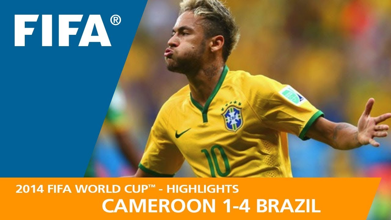 fb8a8f3fc13 CAMEROON v BRAZIL (1:4) - 2014 FIFA World Cup™ - YouTube