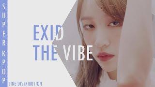 |Exid| The Vibe [아끼지마] // Line Distribution