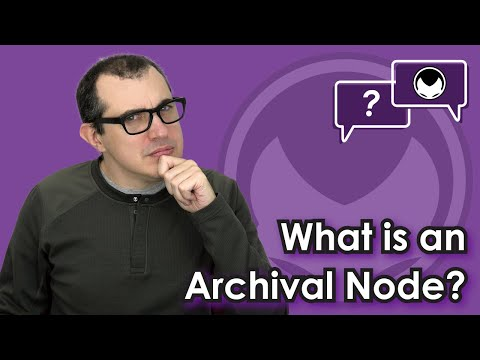 Ethereum Q&A: What is an archival node?