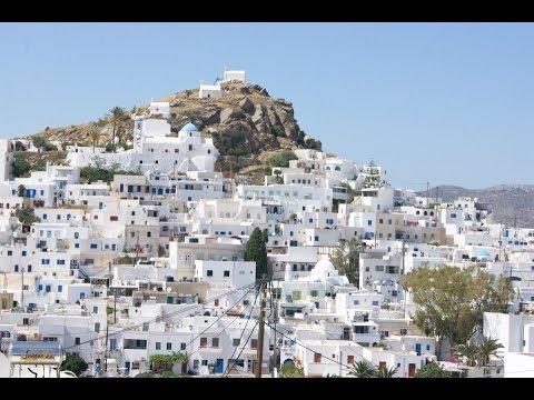 The beautiful island of Ios in Greece