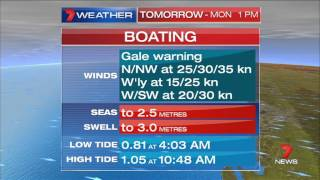 Weather & Closer | Seven News Perth | 19/7/2015