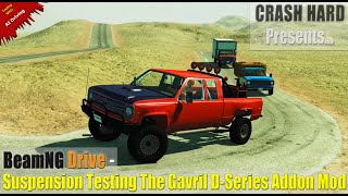 BeamNG Drive - Suspension Testing The Gavril D-Series Addon Mod