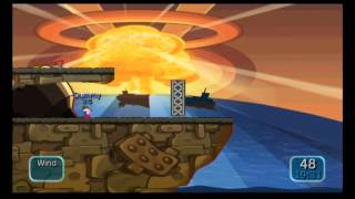 Worms Battle Island Puzzle 30 FINAL