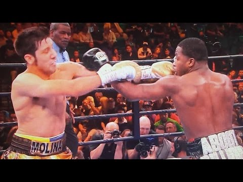 BRONER VS MOLINA JR POST FIGHT RESULTS 3/7/15 PBC ON NBC! MOLINA LANDS ONLY 54 PUNCHES! FANS BOO!
