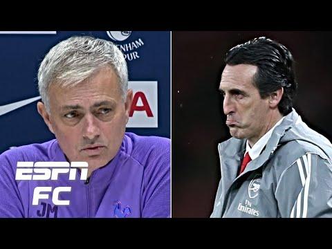 Jose Mourinho reacts to sacking of 'mi amigo' Unai Emery at Arsenal | Premier League