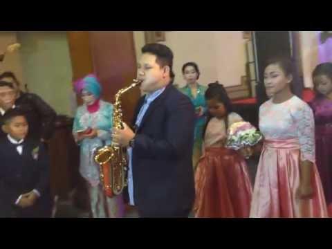 Glenn Fredly - Kasih Putih (cover) by PNP Project at Balai Kartika Kodam