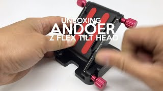 Unboxing Andoer Z Flex Tilt Quick Release for Silders