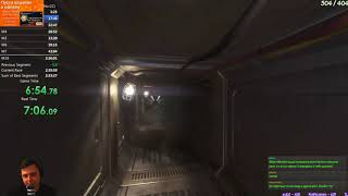 Разбор мирового рекорда Alien Isolation All Missions Nightmare без CC.