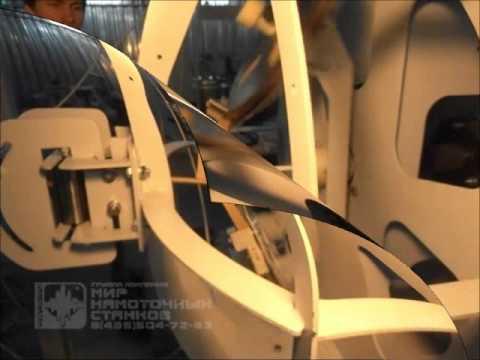 видео: Автоматическая головка обмотки изоляции