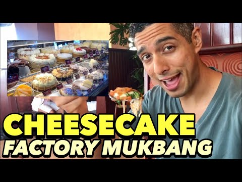 🍰 CHEESCAKE FACTORY MUKBANG 🍜 BEST VEGAN FOOD IN BETWEEN FORT WORTH AND DALLAS ☕ TEA AT SPROUTS