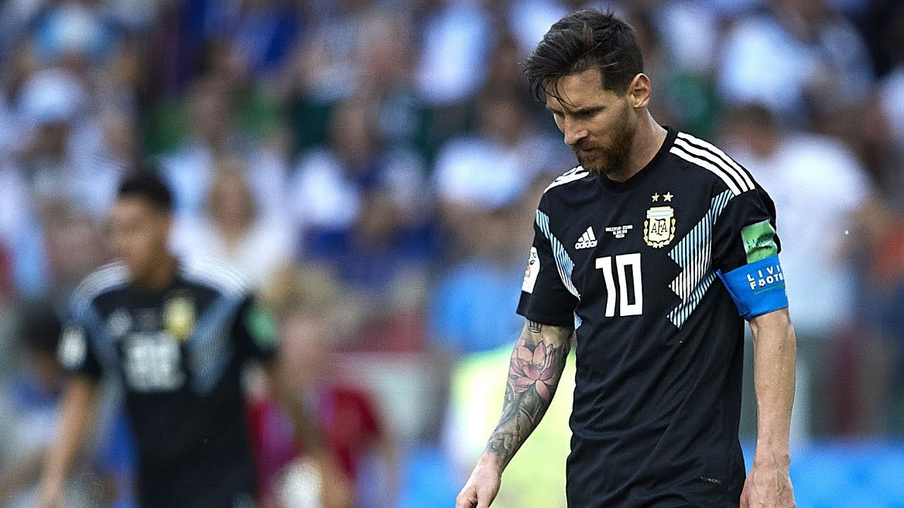big sale 61f49 f0d3f Messi misses penalty as Iceland holds Argentina to 1-1 draw in 2018 World  Cup