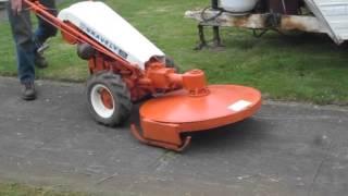 gravely brush mower
