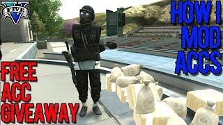 HOW I MOD ACCOUNTS+GIVEAWAY FREE ACC.#2  GTA V ONLINE 