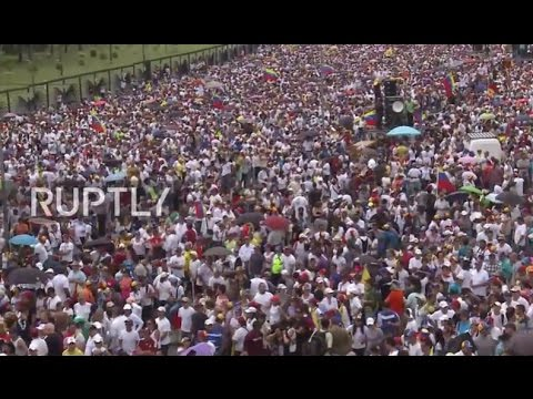 Venezuela: Mass protest calls for Maduro's resignation