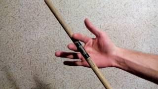 как крутить барабанные палочки обучение