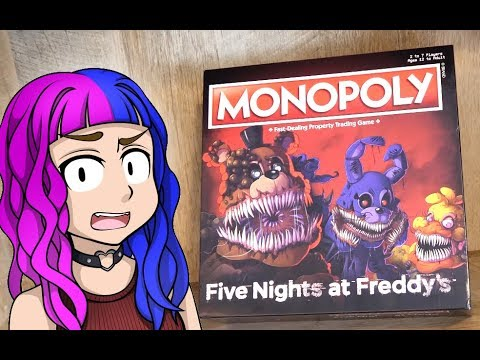 Five Nights at Freddy's Monopoly Review and Playthrough