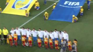 Italia - Slovakia - Entrée et hymne.MOV