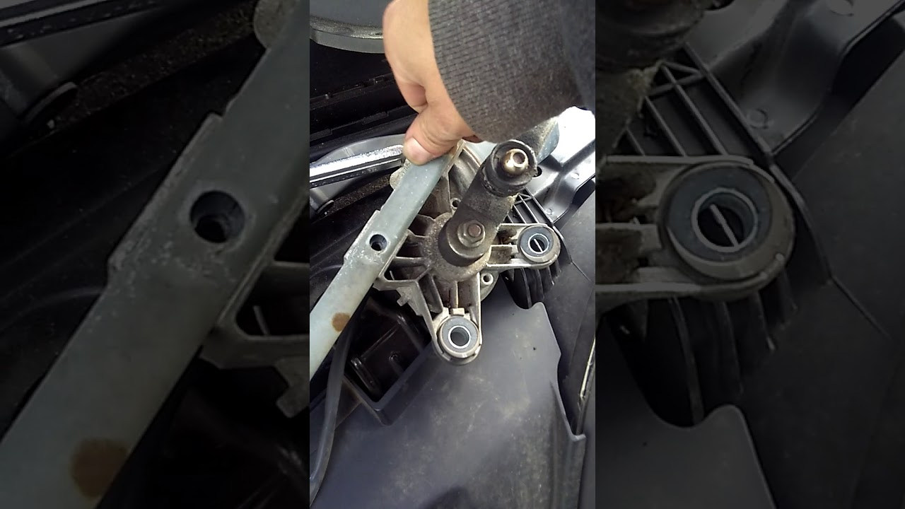2008 Saturn Vue Wiper Transmission Replace