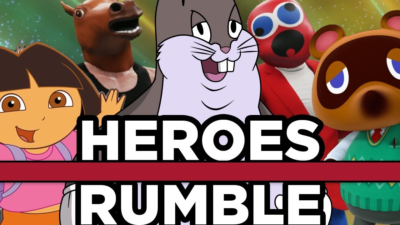 Heroes Royal Rumble With Big Chungus And More Youtuber Tournament
