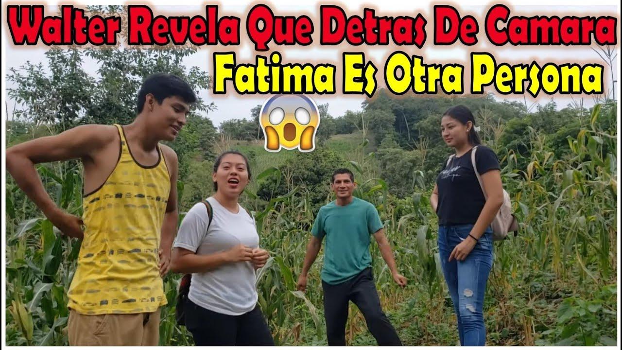 """-Walter Revela La Verdadera Personalidad De Su Hermana Fatima 😱""""Detrás De Camaras Ella Es Otra""""-"""